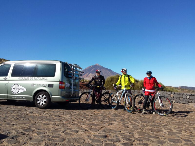 Transporte de bicicletas Tenerife