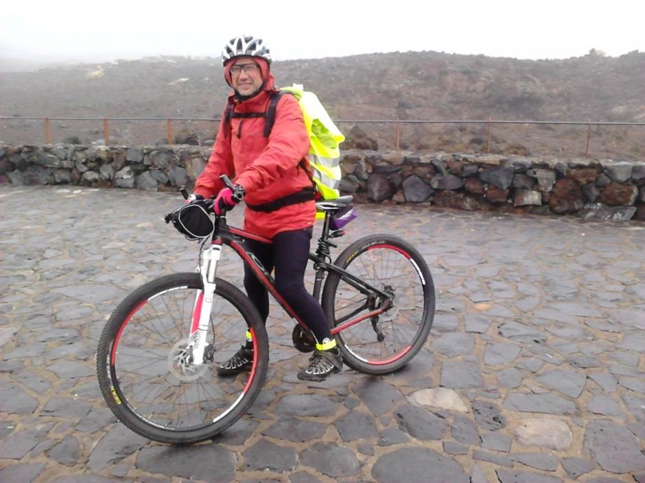 Crónica de ANTONI: Viaje en mountain bike por Tenerife