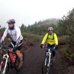 Ruta bicicleta Volcán Chinyero - 2