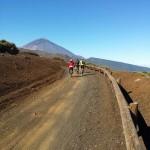 Ruta en bici Izaña - la caldera la orotava