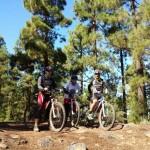 Ruta en bici Izaña - la caldera la orotava - 2